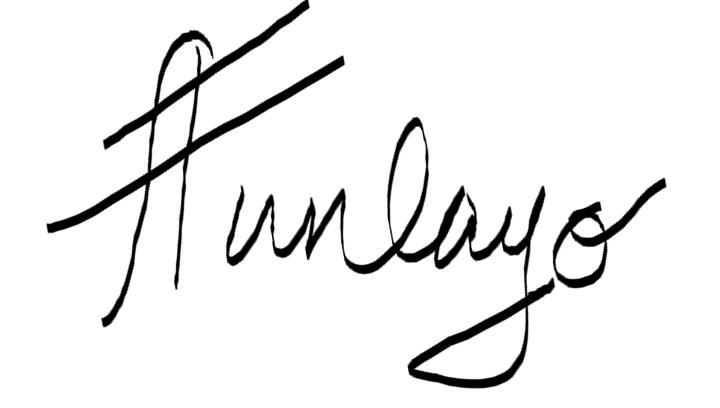 funlayo signature
